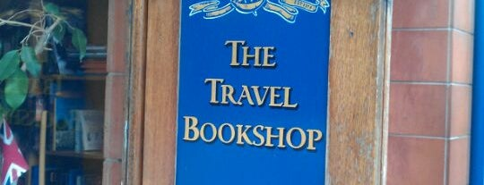 The Travel Bookshop is one of Places to Visit in London.
