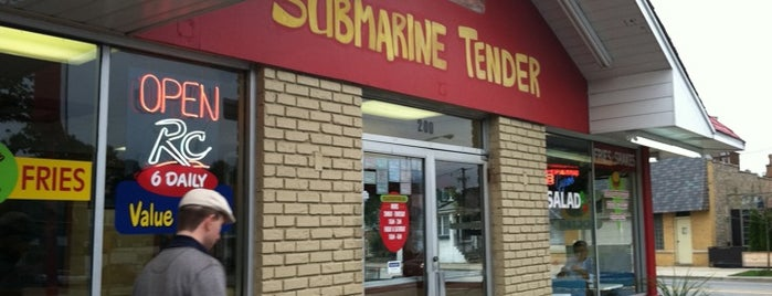 Submarine Tender is one of Favorites!. :).