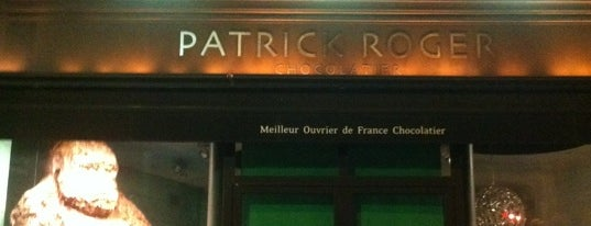 Patrick Roger is one of Paris' Finest Chocolate Shops.