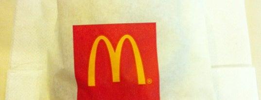 McDonald's / McCafé is one of le 4sq with Donald :).