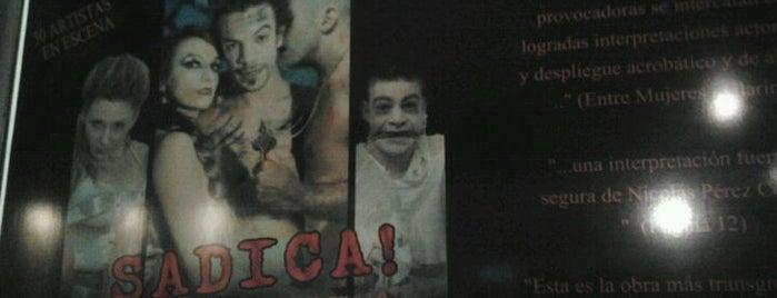 Teatro El Cubo is one of pequeños placeres.