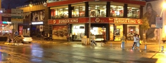 Burger King is one of liste2.