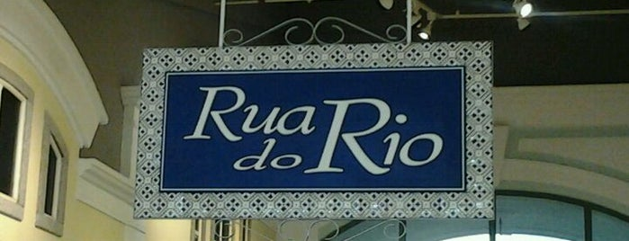 Rua do Rio is one of Locais salvos de Thaís.