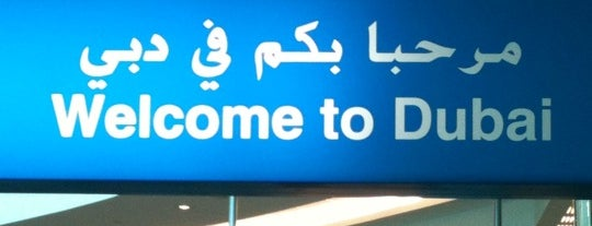 Dubai Uluslararası Havalimanı (DXB) is one of Airports Visited.
