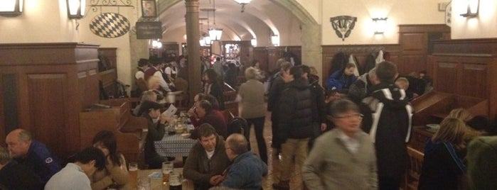 Hofbräuhaus is one of All the great places in Munich.