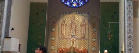 St. Joseph's Catholic Church is one of สถานที่ที่บันทึกไว้ของ Christine.