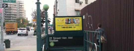 MTA Subway - 21st St/Van Alst (G) is one of Commuting.