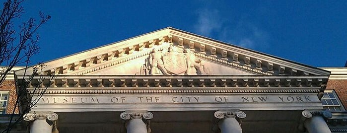 Museum of the City of New York is one of Partners in Preservation-New York City.