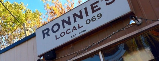 Ronnie's Local 069 is one of Toronto's Best Patios.