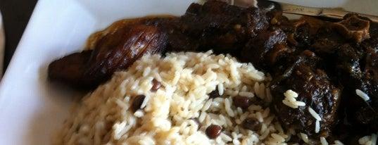 Rocksteady Jamaican Jerk Cafe is one of Lugares guardados de Kamila.