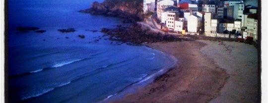Praia de Area Maior is one of Playas de España: Galicia.
