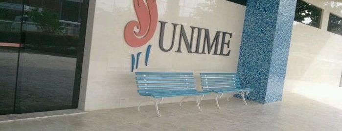 União Metropolitana de Educação e Cultura (UNIME) is one of Tempat yang Disukai Claudio.
