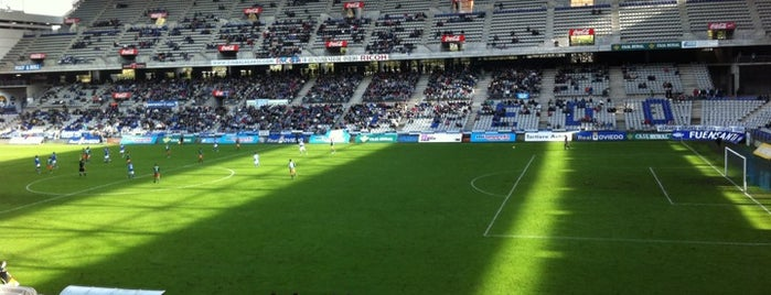 Estadio Nuevo Carlos Tartiere is one of Soccer Stadiums.