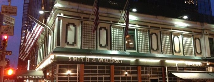 Smith & Wollensky is one of NYC SPOTS.