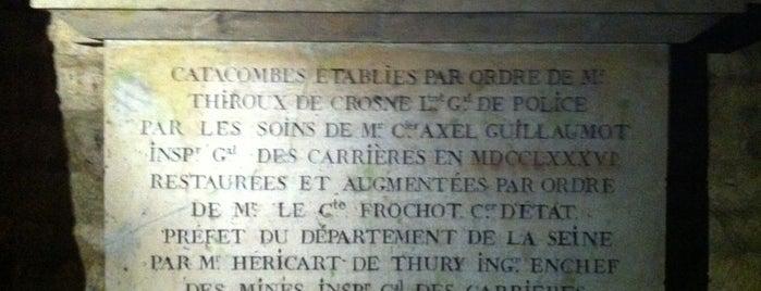 Katakomben von Paris is one of Paris.