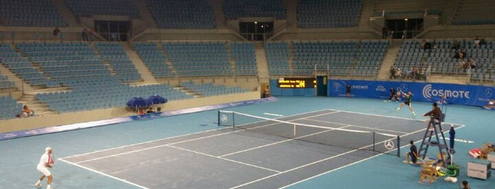 Olympic Tennis Center is one of Tempat yang Disukai Aris.