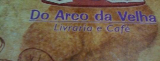Do Arco da Velha Livraria e Café is one of Orte, die Manu gefallen.