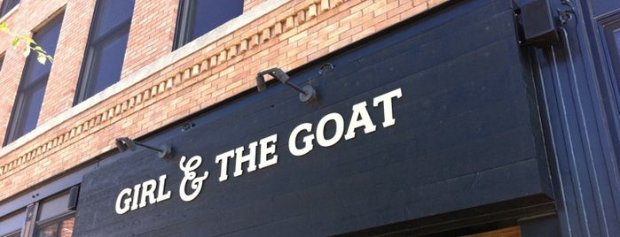 Girl & the Goat is one of Top Chef Restaurants.