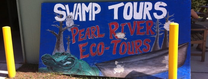 Pearl River Eco Tours is one of New Orleans.