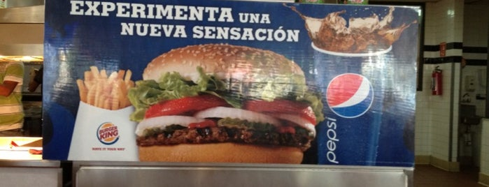 Burger King is one of Lugares de interés.