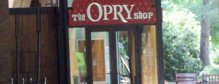 The Opry Shop is one of Posti che sono piaciuti a Zachary.