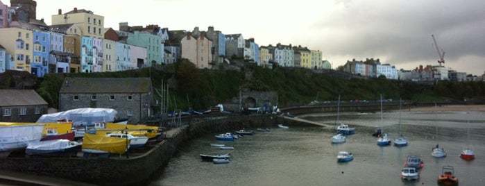 Tenby Harbour is one of Part 1 - Attractions in Great Britain.
