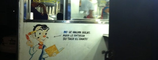 El Chato Taco Truck is one of LA.