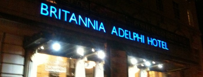Britannia Adelphi Hotel is one of Favorite places in the UK.