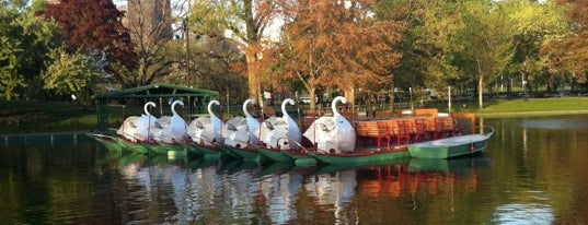The Swan Boats is one of Downtown Boston, Chinatown & North End.