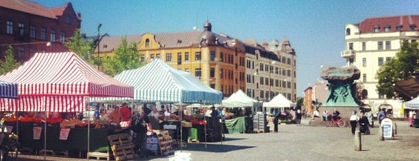 Möllevångstorget is one of 4sq SUs Sweden 님이 좋아한 장소.