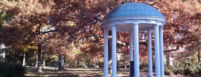 University of North Carolina at Chapel Hill is one of College Love - Which will we visit Fall 2012.