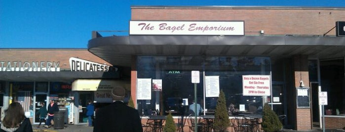 The Bagel Emporium is one of Westchester.