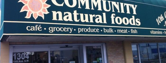 Community Natural Foods - 10th Avenue Market is one of Tempat yang Disukai Leigha.