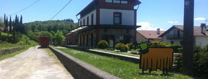 Antigua Estación de Trenes de Plazaola is one of Reyno de Navarra, Tierra de Diversidad.