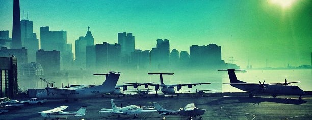 Billy Bishop Toronto City Airport (YTZ) is one of AIRPORT.