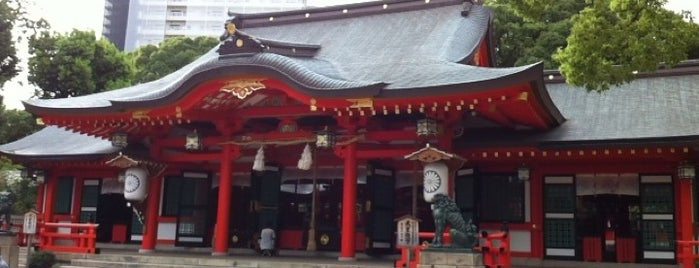 Ikuta-jinja Shrine is one of Kobe-Japan.
