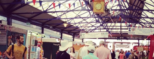 Greenwich Market is one of Where to go in London.