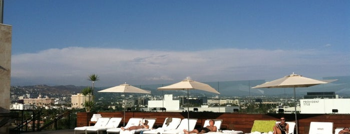 SIXTY Beverly Hills Hotel is one of Rooftop Bars.