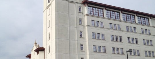 University Hall is one of Christine'nin Beğendiği Mekanlar.