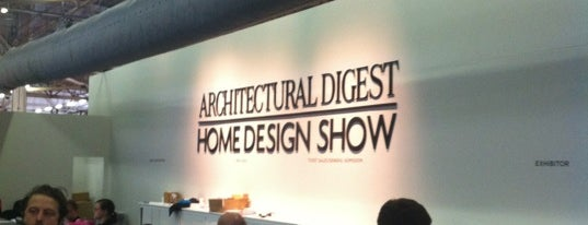 Architectural Digest Home Design Show is one of Locais curtidos por Brad.