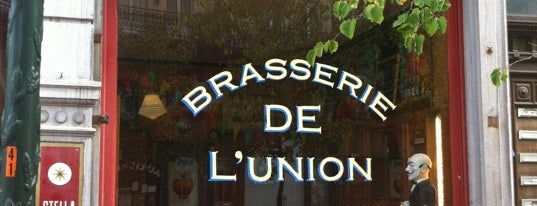 Brasserie de l'Union is one of Bruxelles 2017.