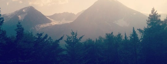 Glacier Mountain is one of สถานที่ที่บันทึกไว้ของ Darcy.