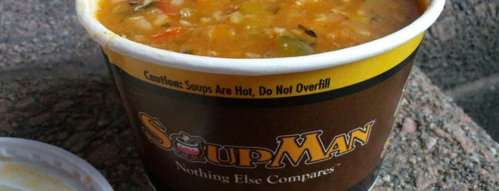 The Original Soupman is one of Nyc.