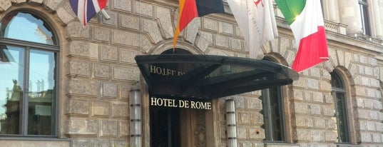 Hotel de Rome is one of Berlin 2018.