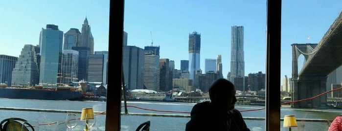 The River Café is one of Joe's List - Best Of New York City.