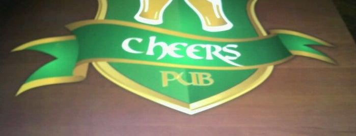 Cheers Pub is one of Lieux sauvegardés par Piotr.