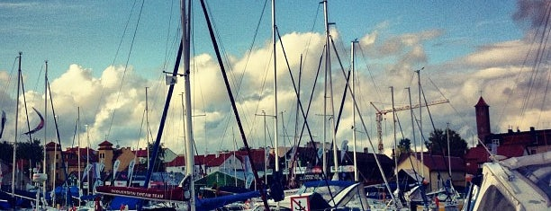 Port Mikołajki is one of Krzysztofさんのお気に入りスポット.
