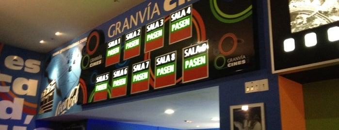 Cines Gran Vía is one of Posti che sono piaciuti a Ricardo.