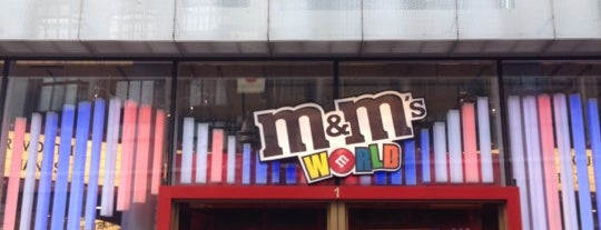 M&M's World is one of London Favourite.