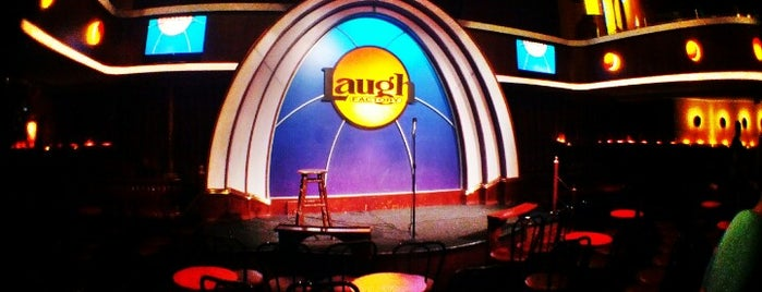 Laugh Factory is one of Los Angeles.